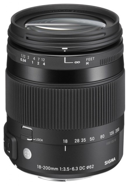Sigma 18-200mm F/3.5-6.3 DC Macro OS HSM   C