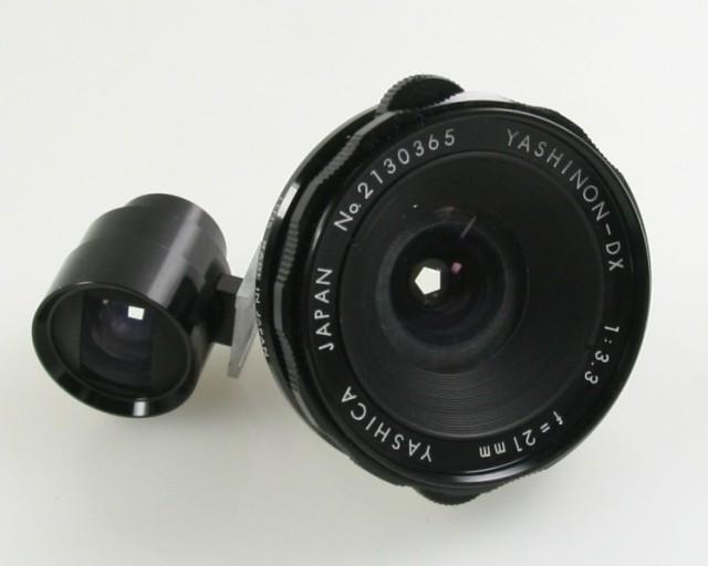 Yashica Yashinon-DX 21mm F/3.3