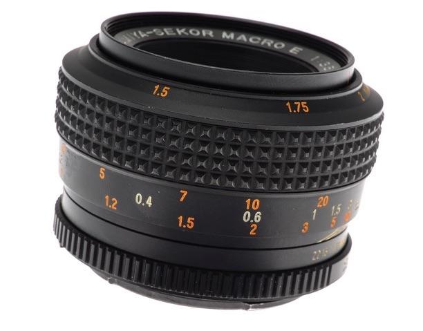 Mamiya-Sekor Macro E 50mm F/3.5