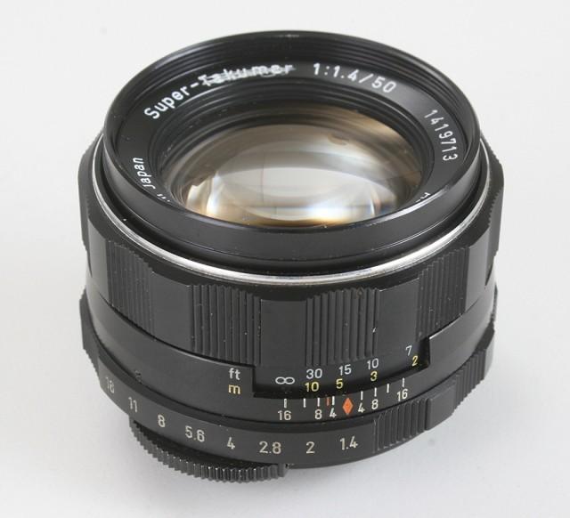 Asahi Super-Takumar 50mm F/1.4