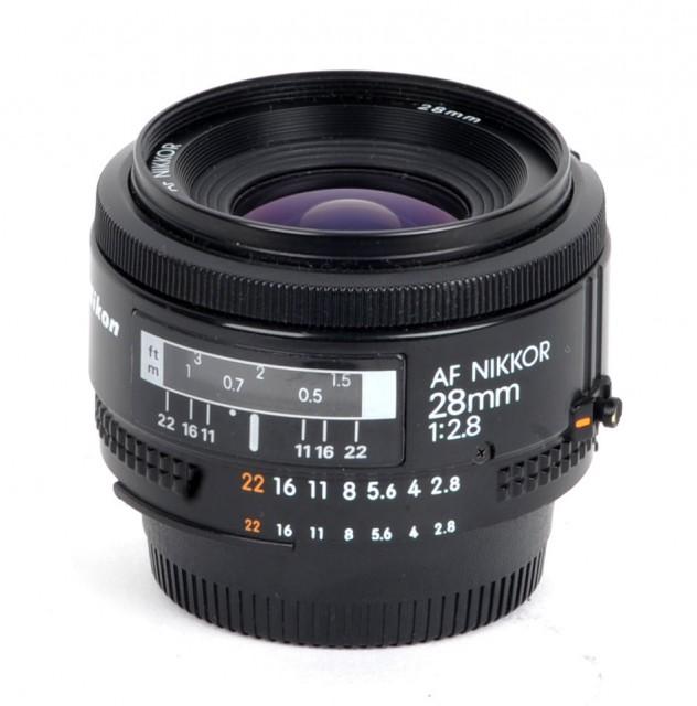 Nikon AF Nikkor 28mm F/2.8 (I)
