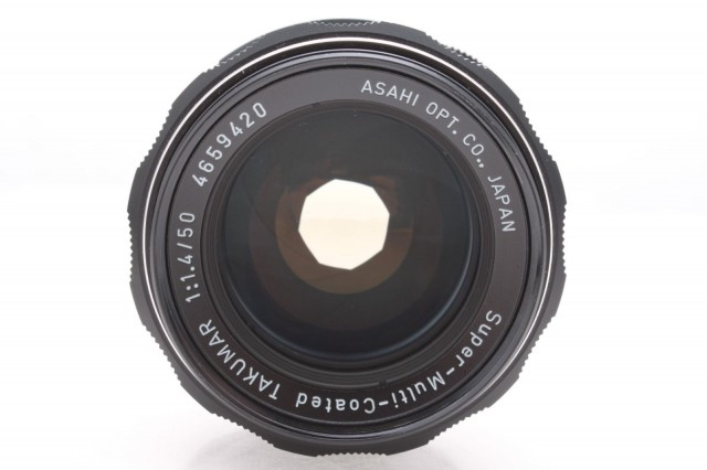 Asahi Super-Multi-Coated Takumar 50mm F/1.4