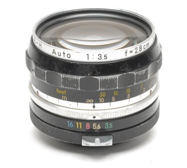 Nikon Nikkor-H Auto 28mm F/3.5