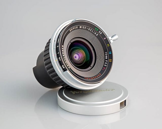 Cosina Voigtlander Super Wide-Heliar 15mm F/4.5 Aspherical SL
