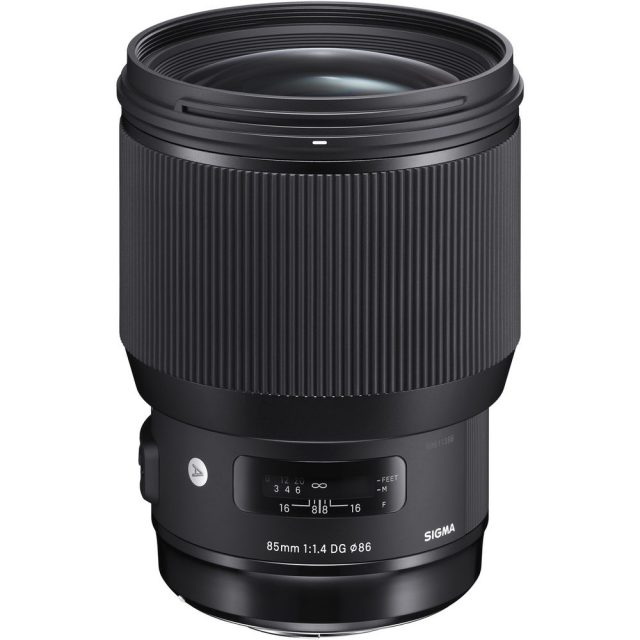 Sigma 85mm F/1.4 DG HSM | A