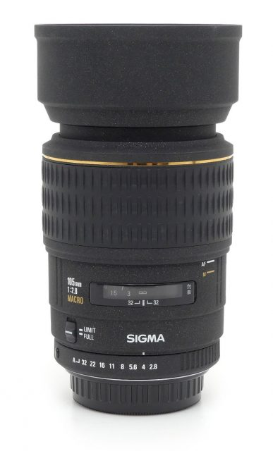 Sigma 105mm F/2.8 EX Macro