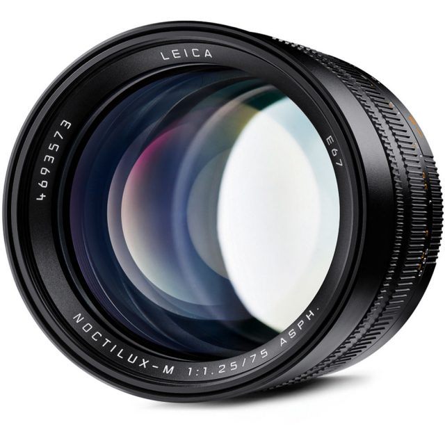 Leica Noctilux-M 75mm F/1.25 ASPH.