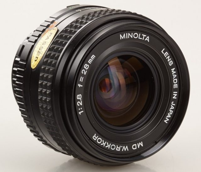 Minolta MD W.Rokkor(-X) 28mm F/2.8