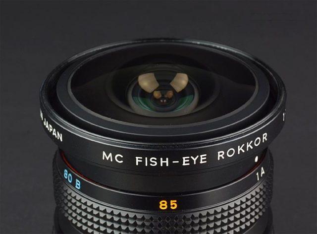 Minolta MC Fish-eye Rokkor(-X) 7.5mm F/4