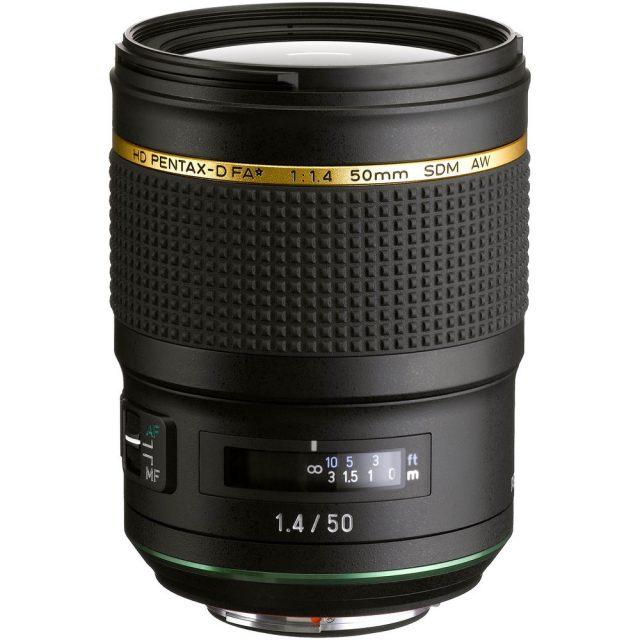 HD Pentax-D FA* 50mm F/1.4 SDM AW
