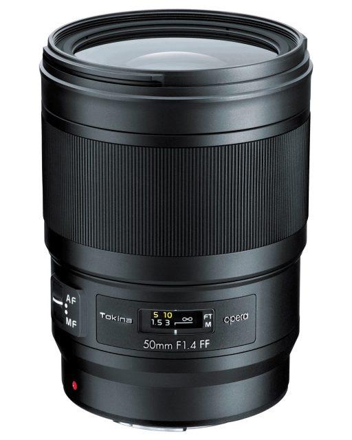 Tokina opera 50mm F/1.4 FF