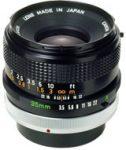 Canon FD 35mm F/3.5 S.C. (III)