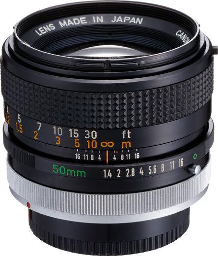 Canon FD 50mm F/1.4 S.S.C. (II)