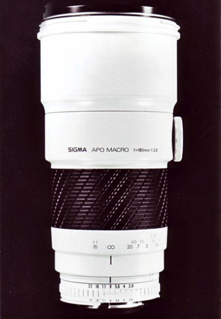 Sigma MF 180mm F/2.8 APO Macro ZEN