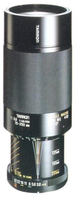 Tamron 75-250mm F/3.8-4.5 04A