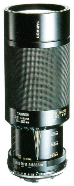 Tamron 75-250mm F/3.8-4.5 104A