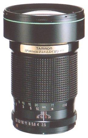 Tamron SP 180mm F/2.5 LD (IF) 63B (35th Anniversary)