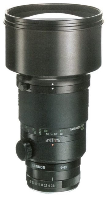 Tamron SP 300mm F/2.8 LD (IF) 360B