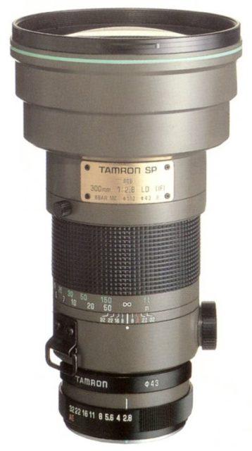 Tamron SP 300mm F/2.8 LD (IF) 60B