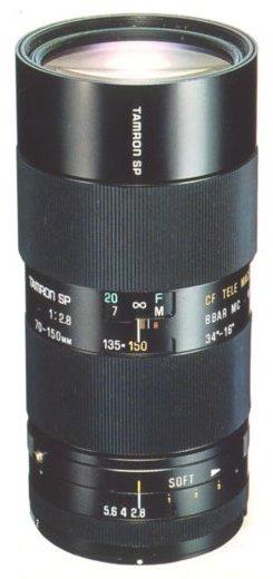 Tamron SP 70-150mm F/2.8 Soft 51A