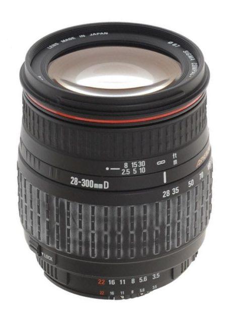 Sigma 28-300mm F/3.5-6.3 Aspherical