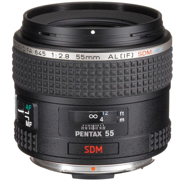 smc Pentax-D FA 645 55mm F/2.8 AL [IF] SDM AW