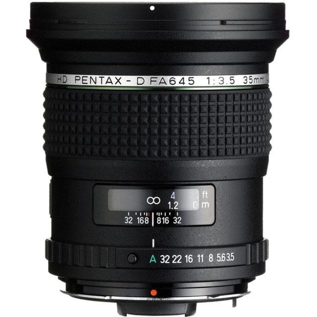 HD Pentax-D FA 645 35mm F/3.5 AL [IF]