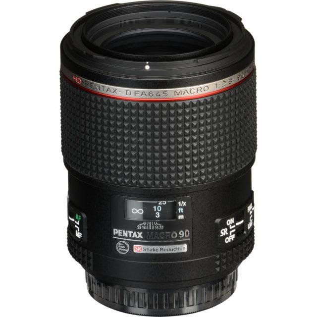 HD Pentax-D FA 645 90mm F/2.8 ED AW SR Macro
