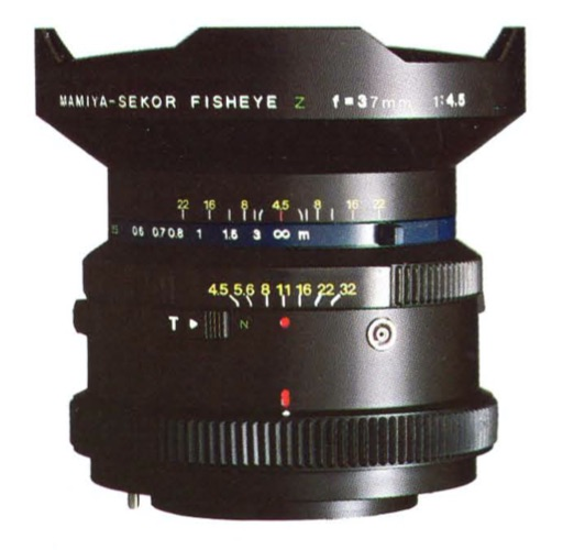 Mamiya-Sekor Fisheye Z 37mm F/4.5