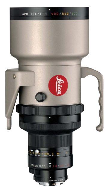 Leica APO-Telyt-R 400mm F/2.8 Module