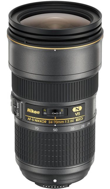 Nikon AF-S Nikkor 24-70mm F/2.8E ED VR (100th Anniversary Edition)