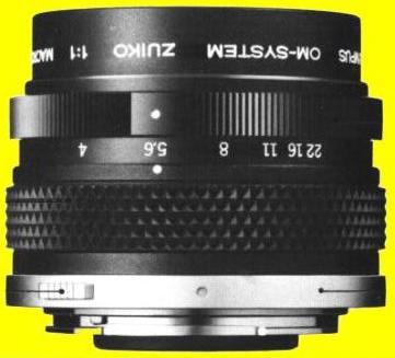 Olympus OM Zuiko (MC) 1:1 Macro 80mm F/4