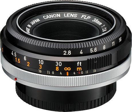 Canon FLP 38mm F/2.8