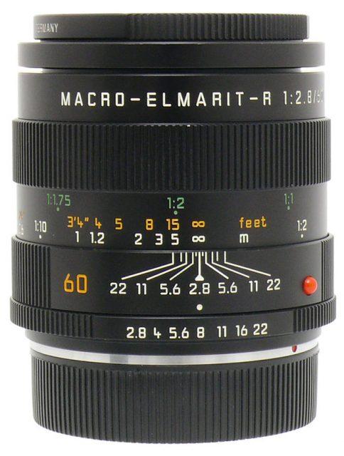 Leitz Wetzlar (Leica) Macro-Elmarit-R 60mm F/2.8 (II)