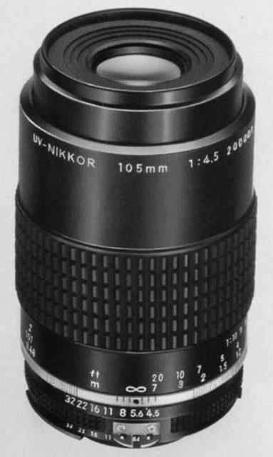 Nikon AI-S UV-Nikkor 105mm F/4.5