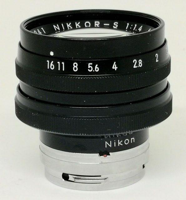 Nikon Nikkor-S 50mm F/1.4