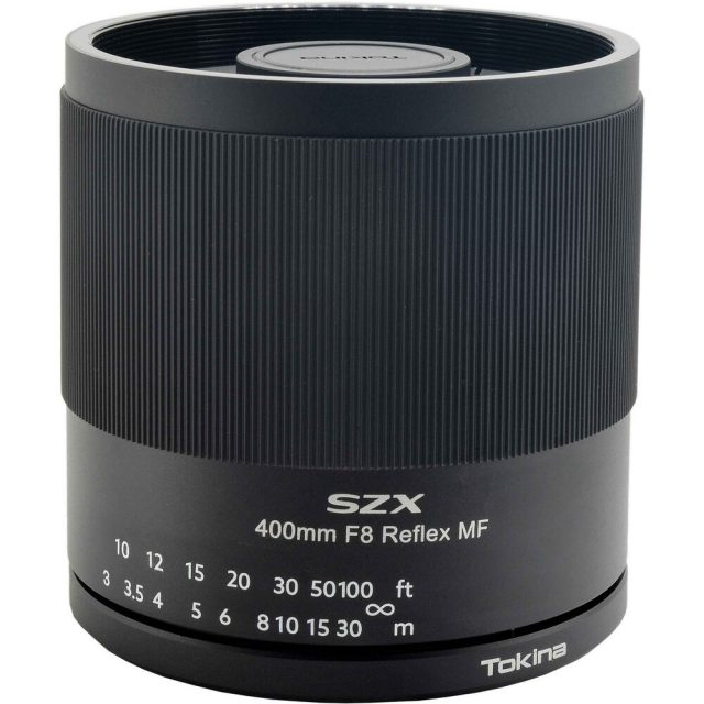 Tokina SZX 400mm F/8 Reflex MF