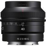 Sony FE 40mm F/2.5 G (SEL40F25G)
