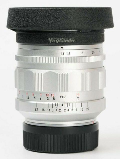 Cosina Voigtlander Nokton 35mm F/1.2 Aspherical VM