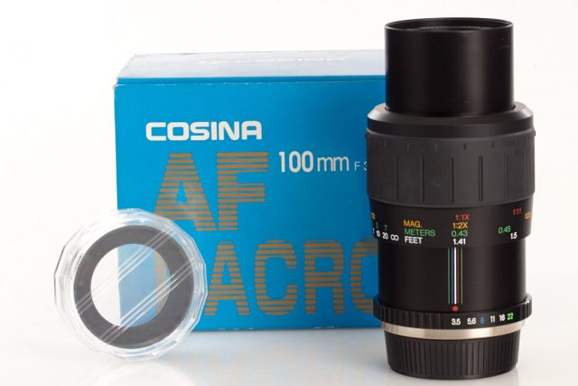 Cosina 100mm F/3.5 MC Macro (Phoenix, Promaster, Soligor, Vivitar)