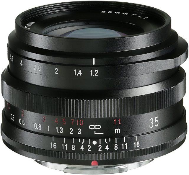 Cosina Voigtlander Nokton 35mm F/1.2 X