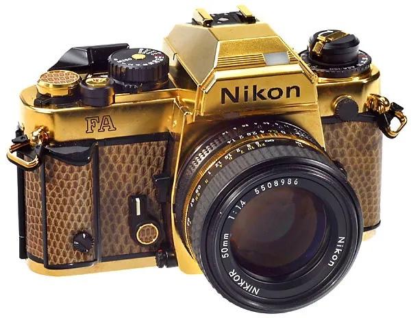 Nikon AI-S Nikkor 50mm F/1.4 Gold