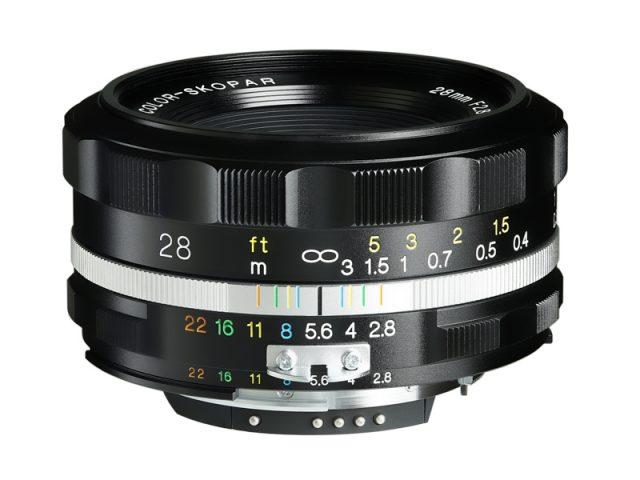 Cosina Voigtlander Color-Skopar 28mm F/2.8 Aspherical SL II S